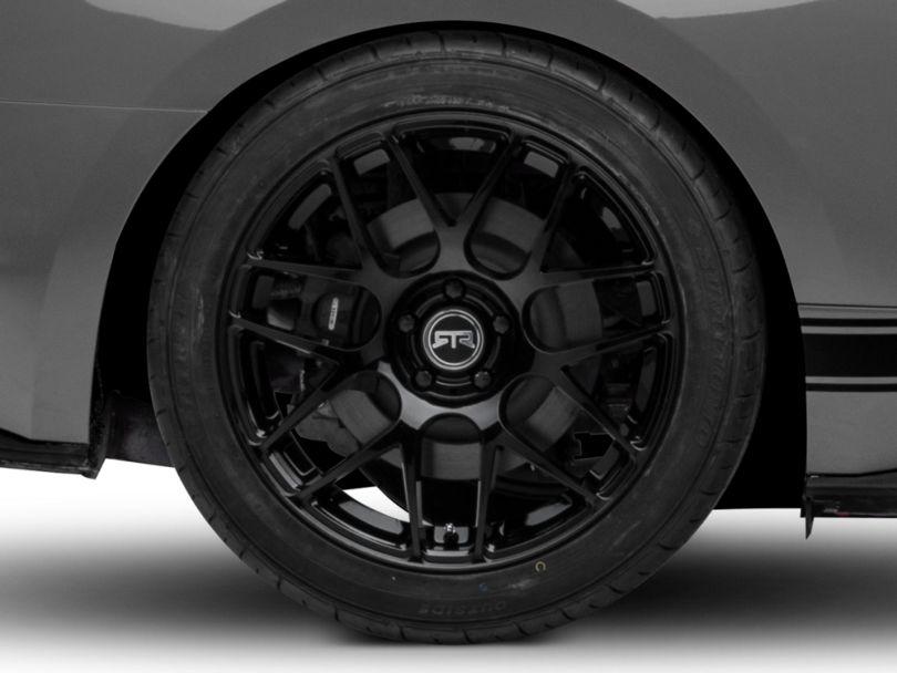 RTR Black Wheel - 19x10 - Rear Only (15-20 GT, EcoBoost, V6)