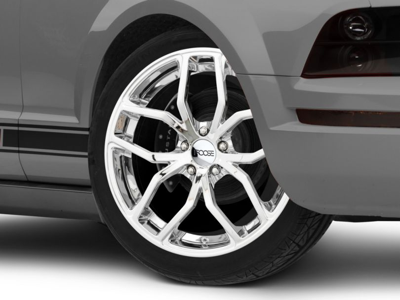 Foose Outcast Chrome Wheel; 20x8.5 (05-09 All)