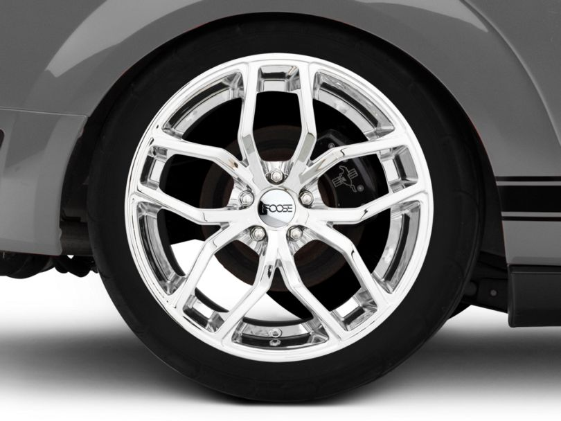 Foose Outcast Chrome Wheel - 20x10 - Rear Only (05-09 All)