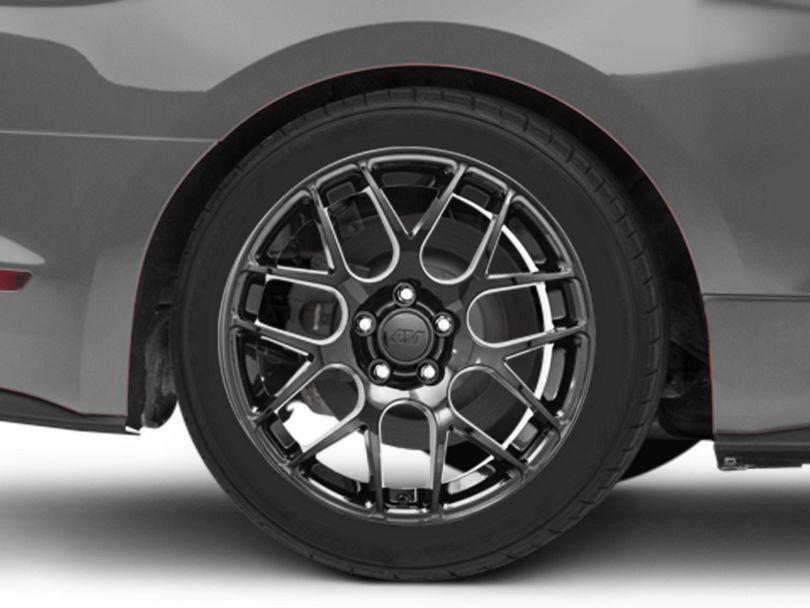 AMR Black Wheel - 18x10 - Rear Only (15-20 EcoBoost, V6)