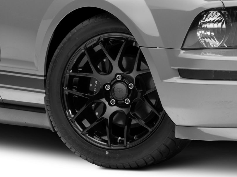 AMR Black Wheel; 18x9 (05-09 All)