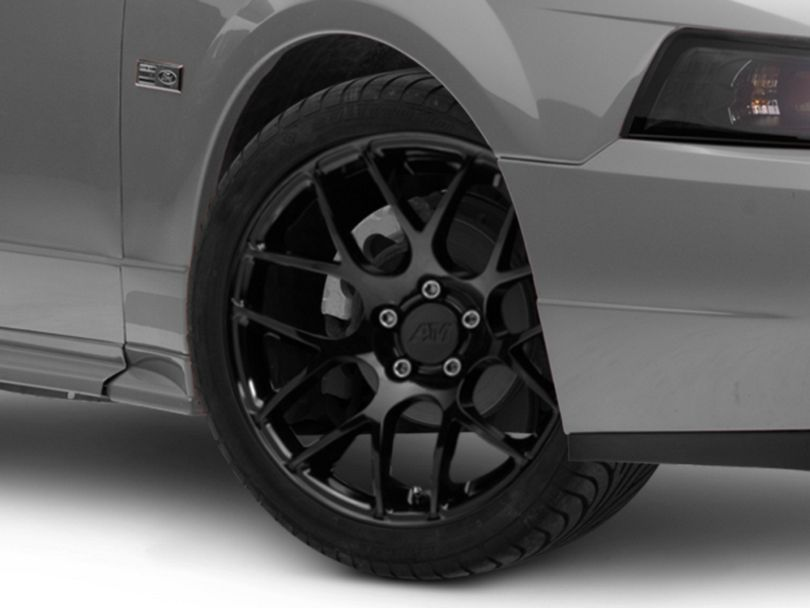 AMR Black Wheel; 18x8 (99-04 All)