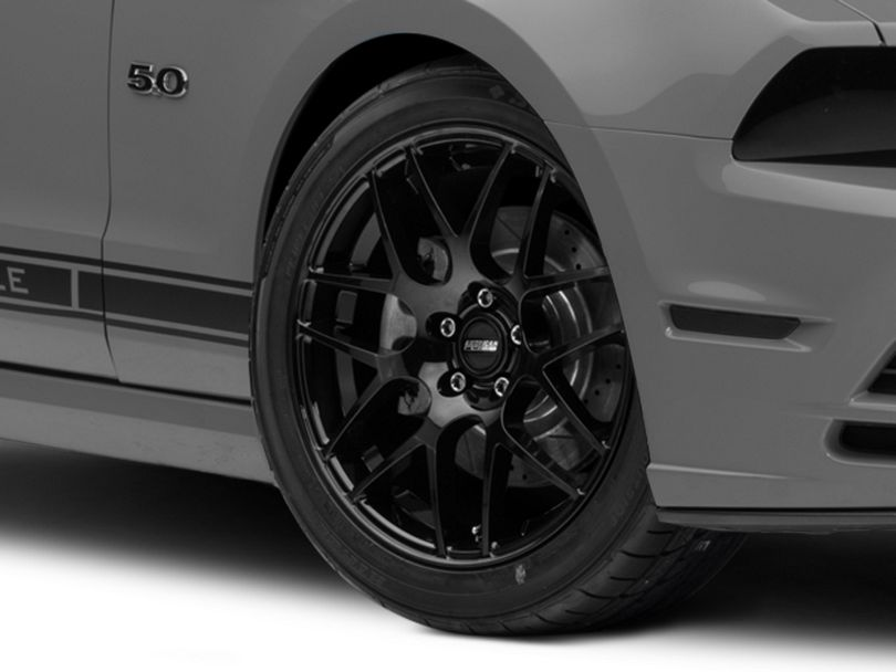 AMR Black Wheel; 19x8.5 (10-14 All)