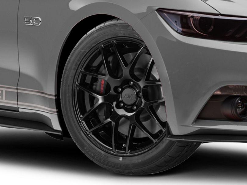 AMR Black Wheel; 19x8.5 (15-20 GT, EcoBoost, V6)