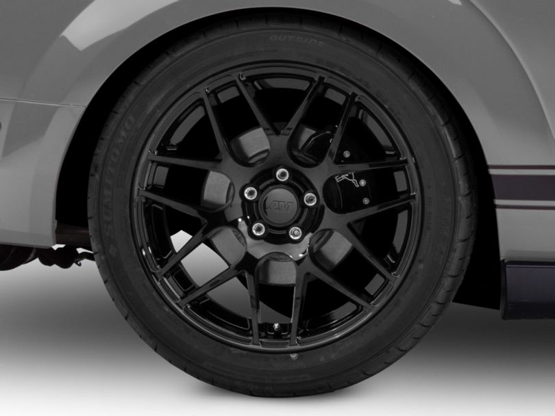 AMR Black Wheel - 19x10 - Rear Only (05-09 All)
