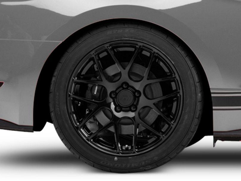 AMR Black Wheel; Rear Only; 19x10 (15-20 GT, EcoBoost, V6)