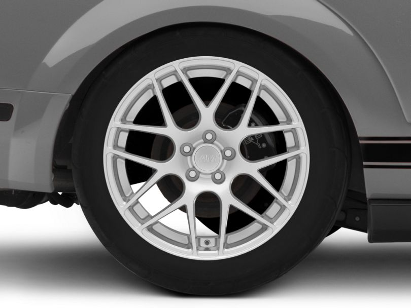 AMR Silver Wheel - 19x11 - Rear Only (05-09 All)
