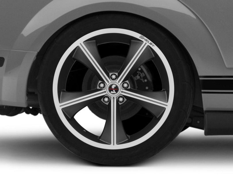 Shelby CS70 Gunmetal Wheel - 20x10 - Rear Only (05-09 All)