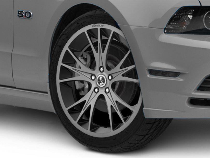 Shelby CS1 Gunmetal Wheel; 20x9 (10-14 All)