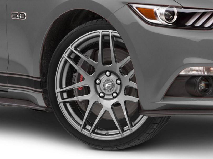 Forgestar F14 Monoblock Gunmetal Wheel - 19x9.5 (15-20 GT, EcoBoost, V6)