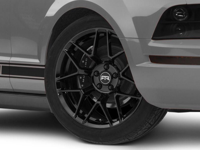 RTR Tech 7 Gloss Black Wheel; 19x9.5 (05-09 All)
