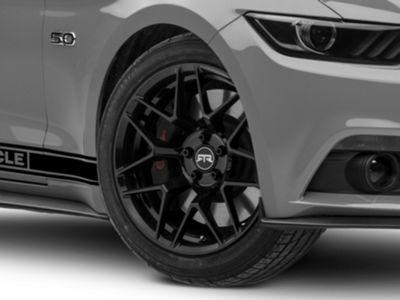 RTR Tech 7 Black Wheel - 19x9.5 (15-19 GT, EcoBoost, V6)
