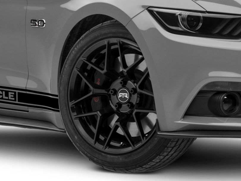 RTR Tech 7 Black Wheel - 19x9.5 (15-18 All)