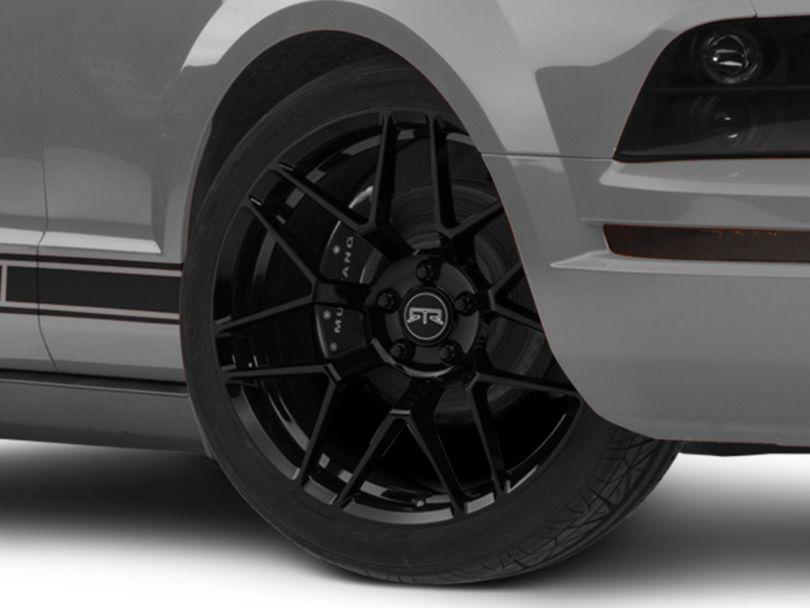 RTR Tech 7 Gloss Black Wheel - 20x9.5 (05-09 All)