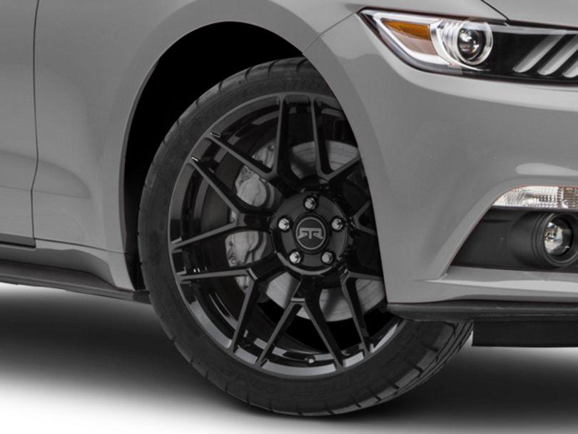 RTR Tech 7 Gloss Black Wheel - 20x9.5 (15-19 All)