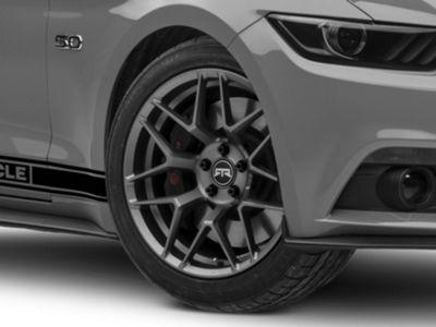 RTR Tech 7 Satin Charcoal Wheel - 19x9.5 (15-19 GT, EcoBoost, V6)