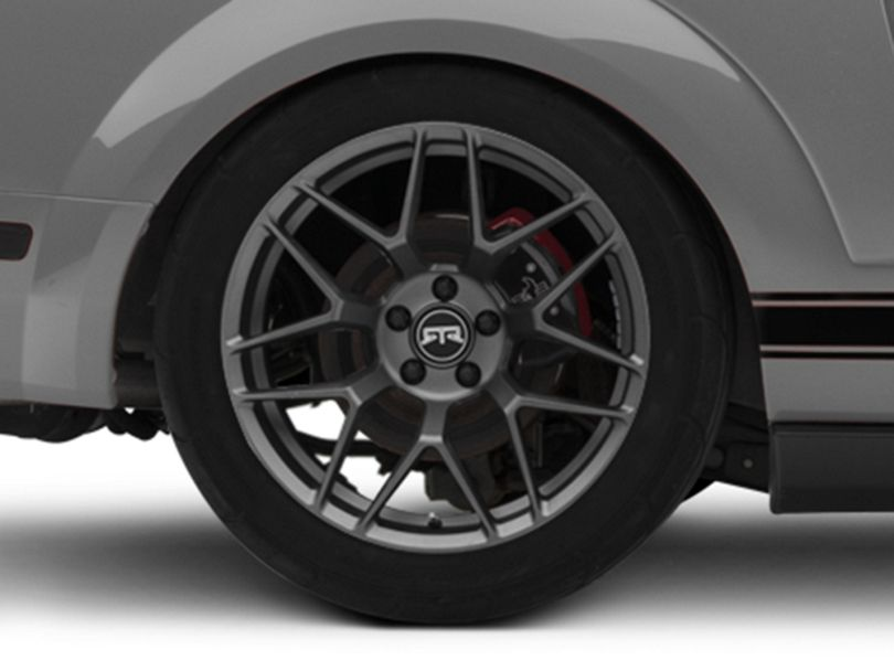 RTR Tech 7 Satin Charcoal Wheel - 19x10.5 - Rear Only (05-09 All)