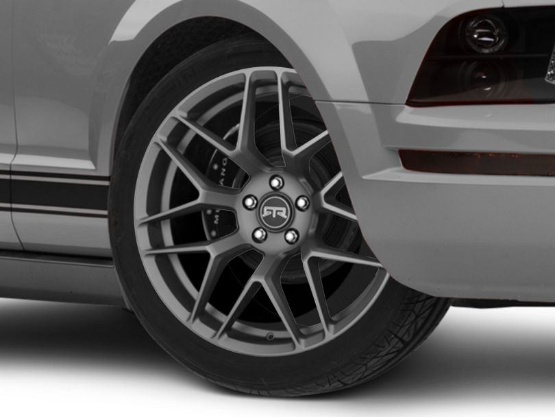 RTR Tech 7 Satin Charcoal Wheel - 20x9.5 (05-09 All)