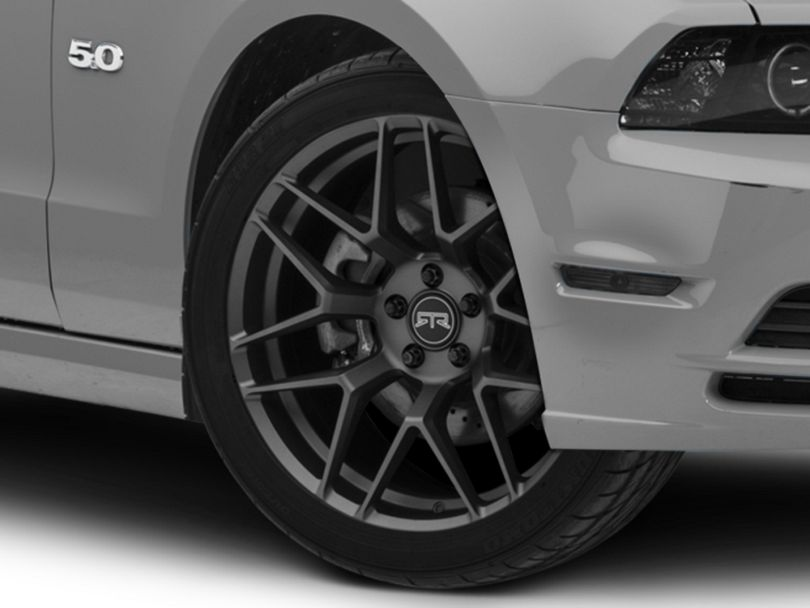 RTR Tech 7 Satin Charcoal Wheel - 20x9.5 (10-14 All)