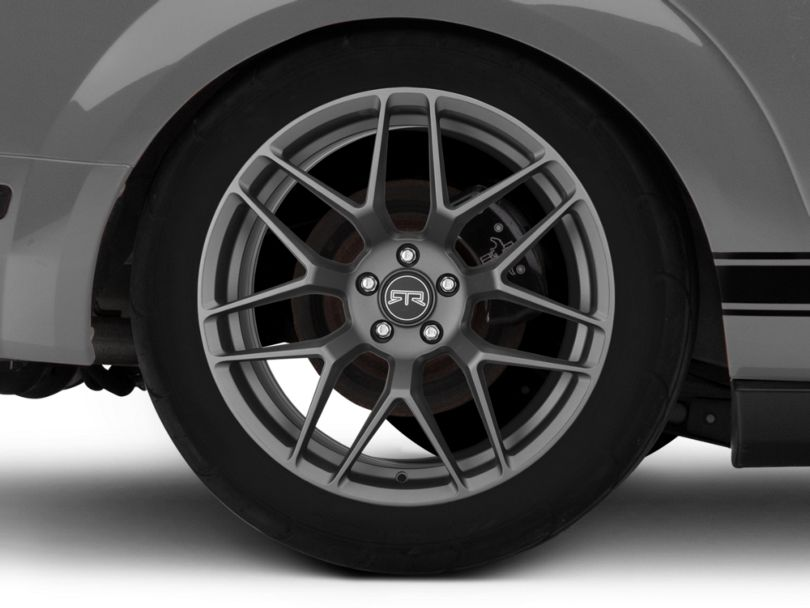 RTR Tech 7 Satin Charcoal Wheel - 20x10.5 - Rear Only (05-09 All)