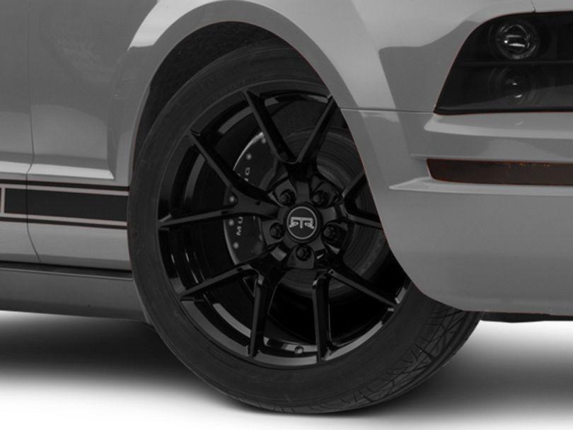 RTR Tech 5 Gloss Black Wheel - 19x9.5 (05-09 All)