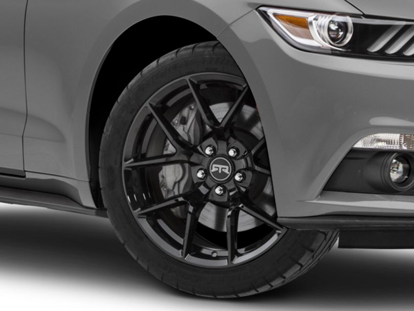 RTR Tech 5 Gloss Black Wheel - 19x9.5 (15-20 GT, EcoBoost, V6)