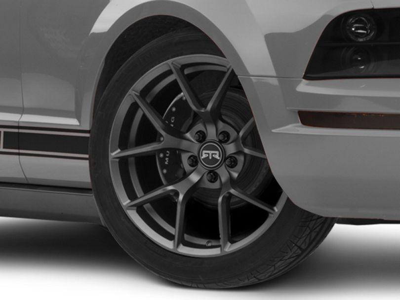 RTR Tech 5 Satin Charcoal Wheel - 19x9.5 (05-09 All)