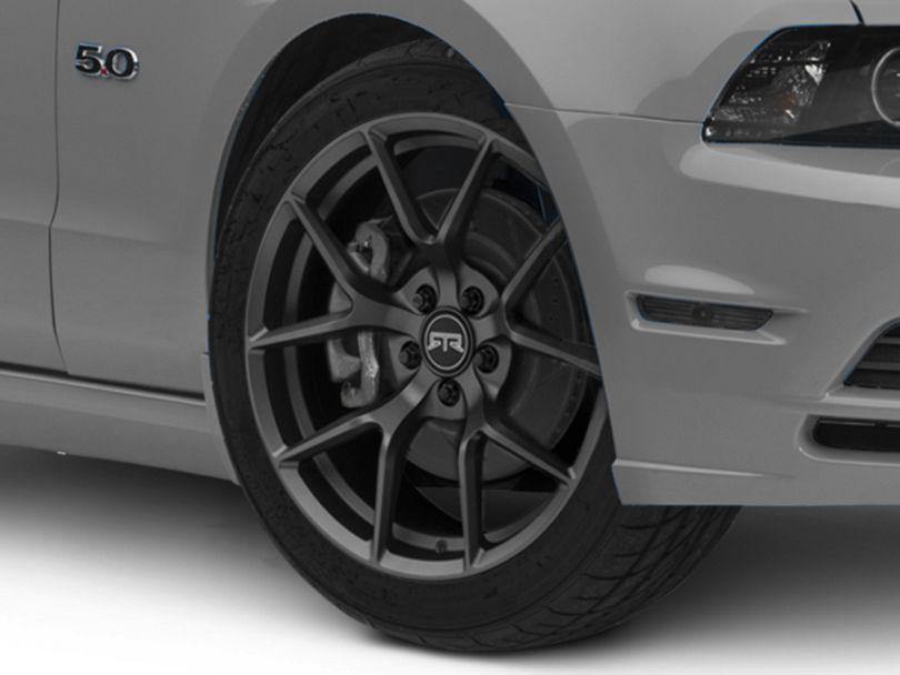 RTR Tech 5 Satin Charcoal Wheel; 19x9.5 (10-14 All)