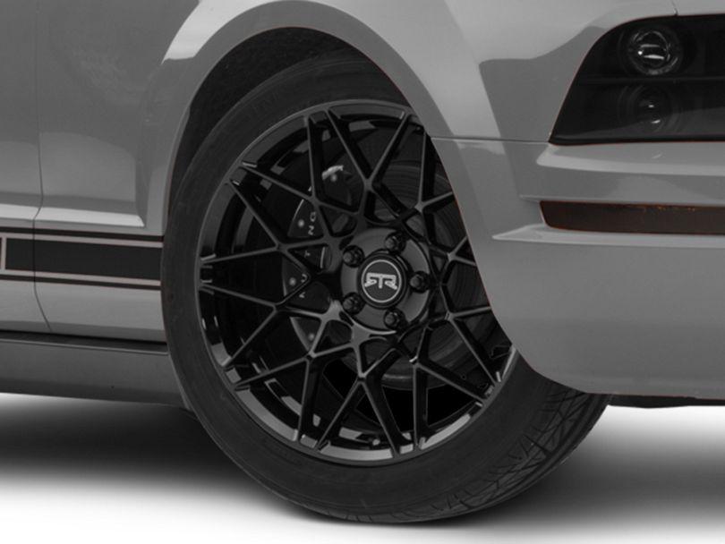 RTR Tech Mesh Gloss Black Wheel - 19x9.5 (05-09 GT, V6)