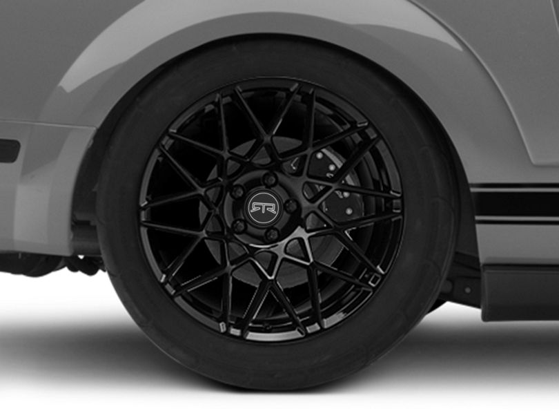 RTR Tech Mesh Gloss Black Wheel - 19x10.5 - Rear Only (05-09 All)