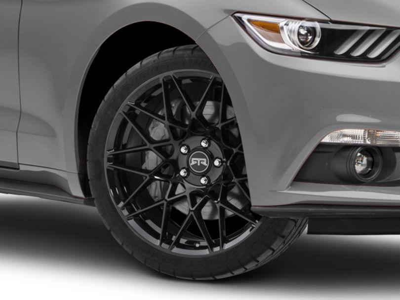 RTR Tech Mesh Gloss Black Wheel; 20x9.5 (15-20 GT, EcoBoost, V6)