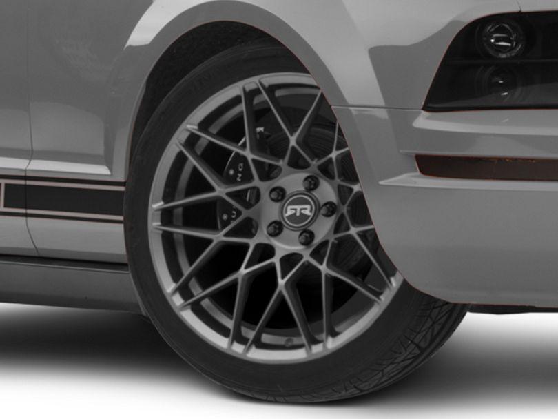 RTR Tech Mesh Satin Charcoal Wheel - 20x9.5 (05-09 GT, V6)