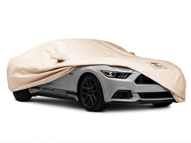 Covercraft Deluxe Custom-Fit Car Cover - 50th Anniversary Logo (15-20 Fastback)