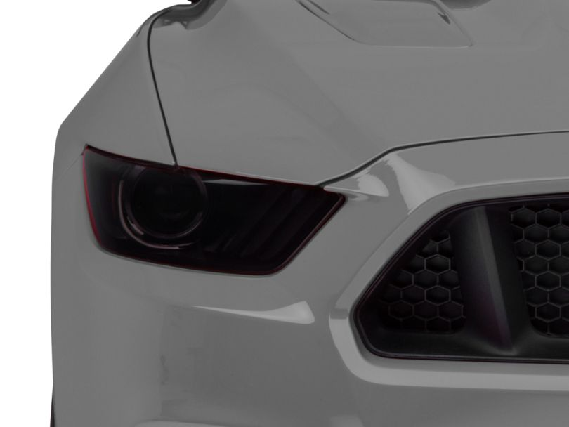 American Muscle Graphics Headlight Tint; Smoked (15-17 All; 18-20 GT350, GT500)