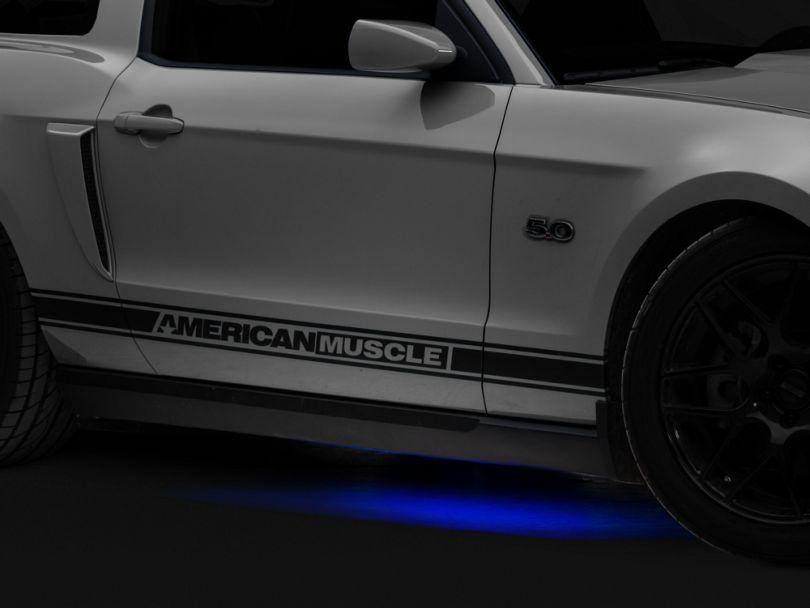 Axial Flexible 36-Inch LED Strip; Blue