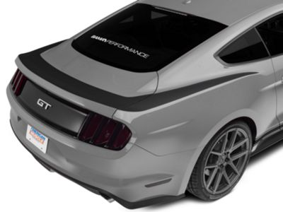 American Muscle Graphics Matte Black Upper Rear Surround Decal (15-19 All)