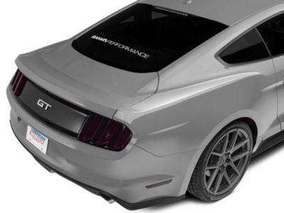 American Muscle Graphics Silver Upper Rear Surround Decal (15-19 All)