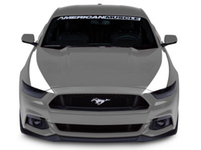 American Muscle Graphics Outer Hood Stripes - White (15-17 All)