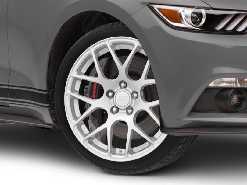 AMR Silver Wheel; 18x9 (15-20 EcoBoost, V6)