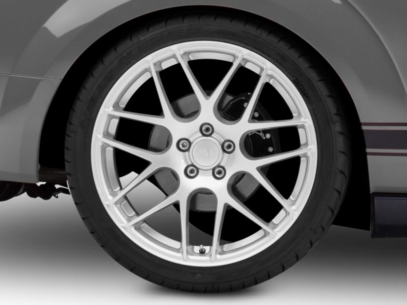 AMR Silver Wheel; Rear Only; 20x10 (05-09 All)