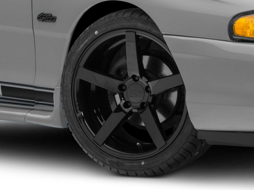 Rovos Durban Gloss Black Wheel; 18x9 (94-98 All)