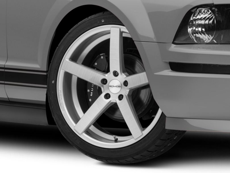 Rovos Durban Brushed Silver Wheel; 20x8.5 (05-09 All)