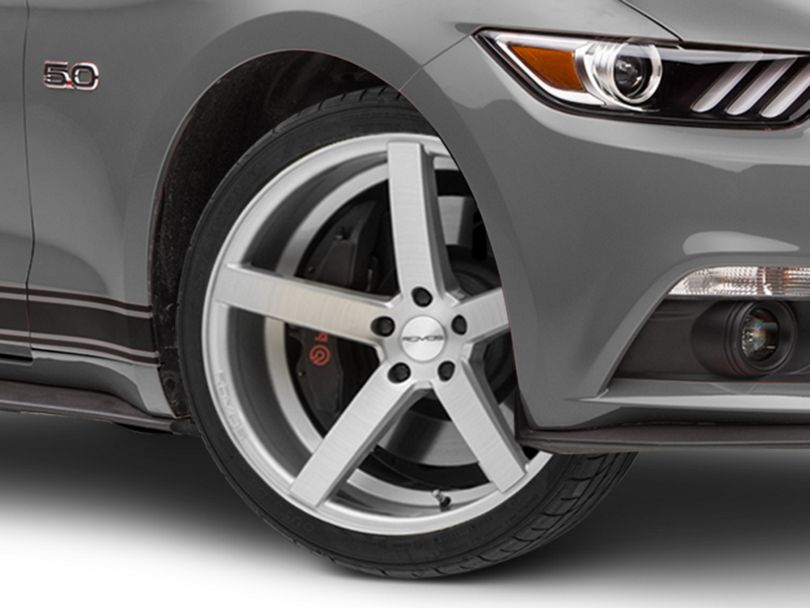 Rovos Durban Brushed Silver Wheel - 20x8.5 (15-20 GT, EcoBoost, V6)