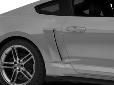 Roush Quarter Panel Side Scoops - Unpainted (15-19 All)