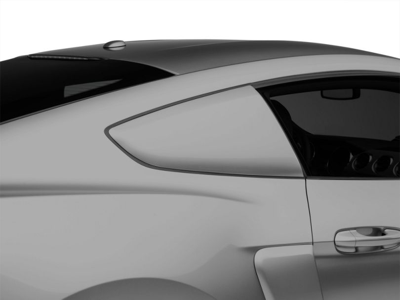 MMD by FOOSE Classic Quarter Window Scoops - Unpainted (15-20 Fastback)