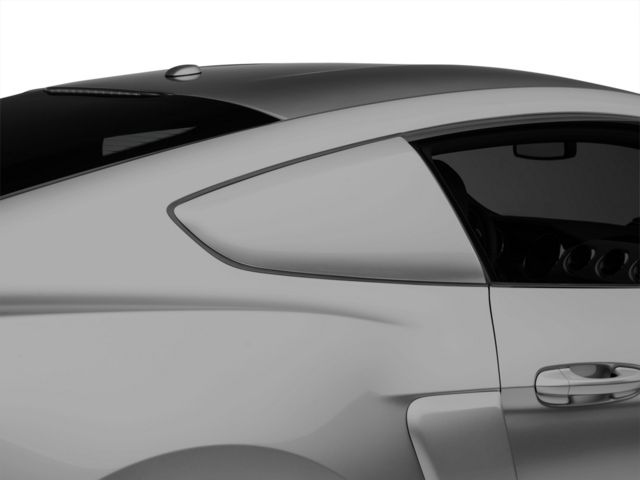MMD by FOOSE Quarter Window Scoops - Pre-painted (15-18 Fastback)