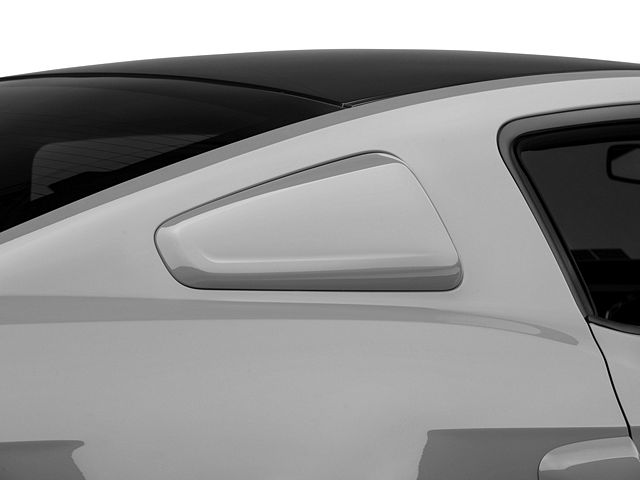 MMD by FOOSE Quarter Window Scoops; Pre-Painted (10-14 Coupe)