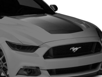 American Muscle Graphics Red Hood Decal (15-17 GT