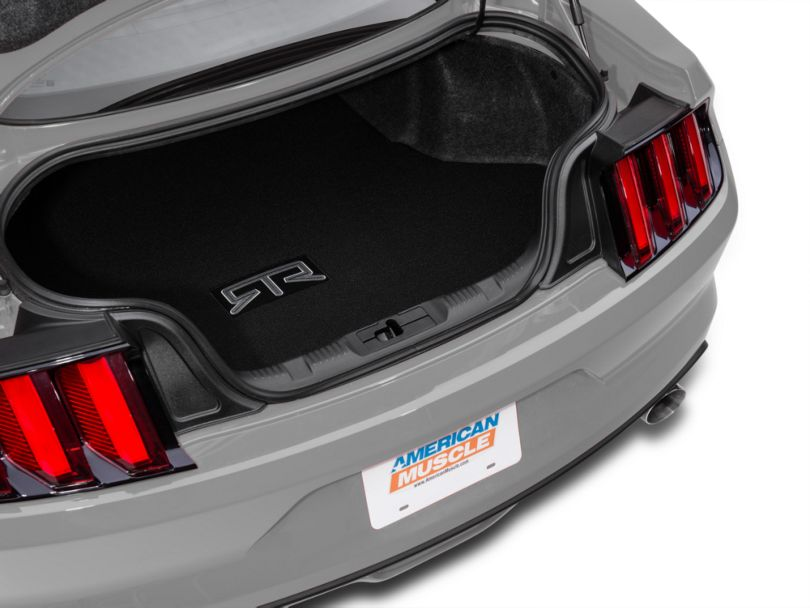RTR Trunk Mat with RTR Logo; Black (15-20 All)