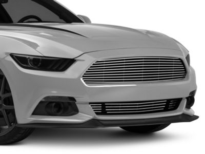 Modern Billet Replacement Grille - Combo - Polished (15-17 GT)